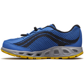 Columbia Drainmaker IV Chaussures Enfant, stormy blue/deep yellow